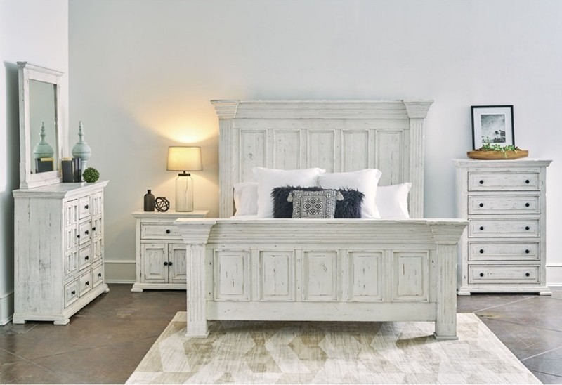 Olivia White Bedroom Set