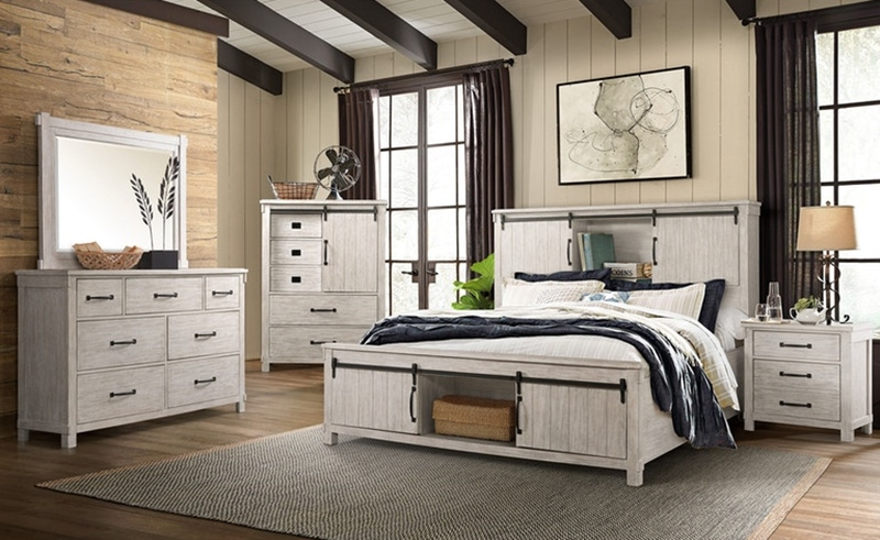 Scott White Bedroom Set
