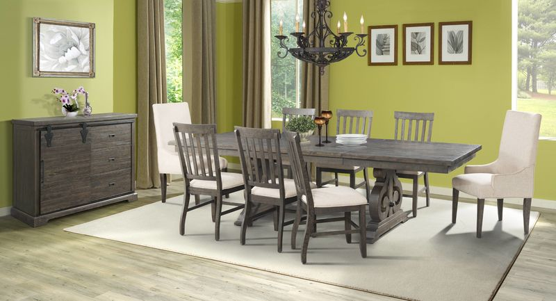 Elements Dst100 Stone Formal Dining Room Set Dallas