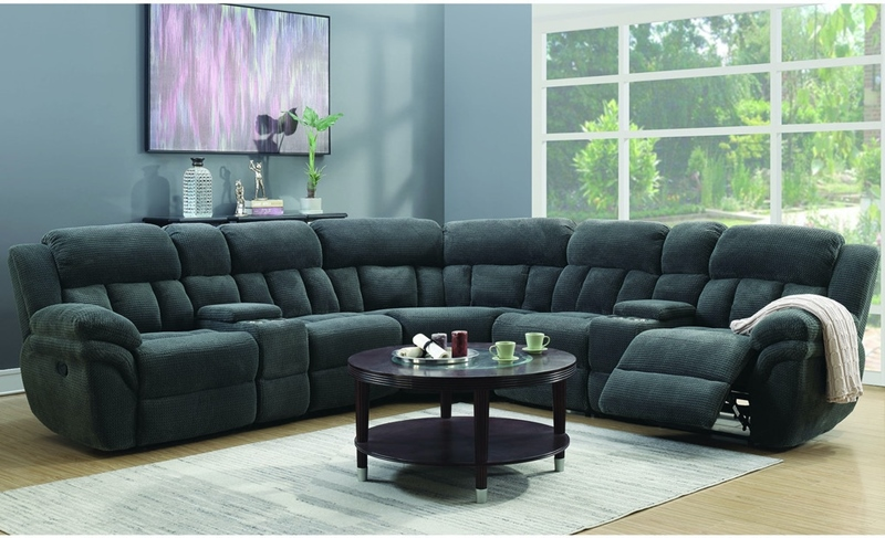 Santorini Sectional in Grey