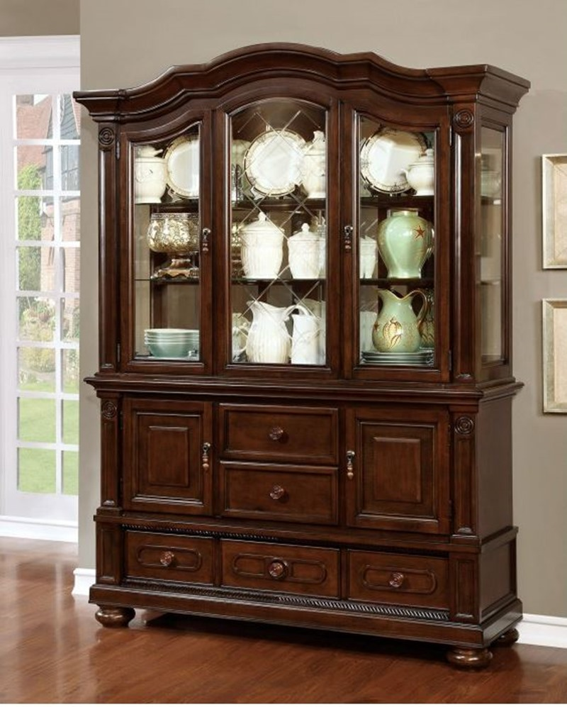 Alpena Formal Dining Room Set with Round Table