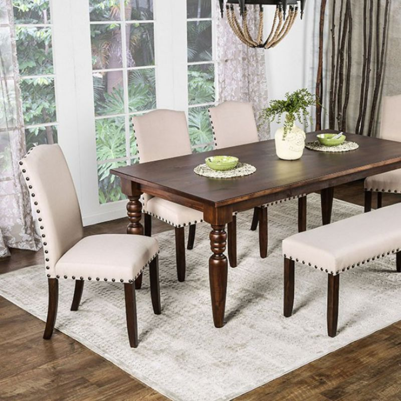 Anapolis Formal Dining Room Set with Bench