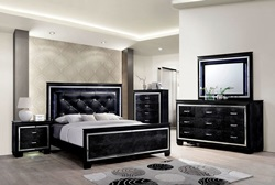 Bellanova Bedroom Set in Black