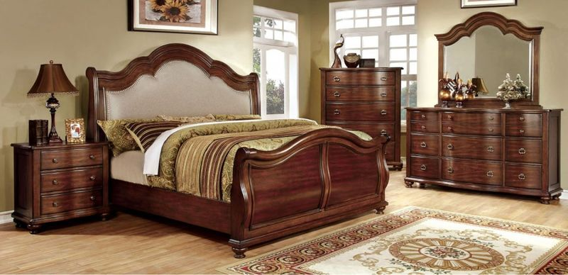 Bellavista Bedroom Set with High Footboard