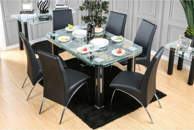 Berthold Dining Room Set in Black