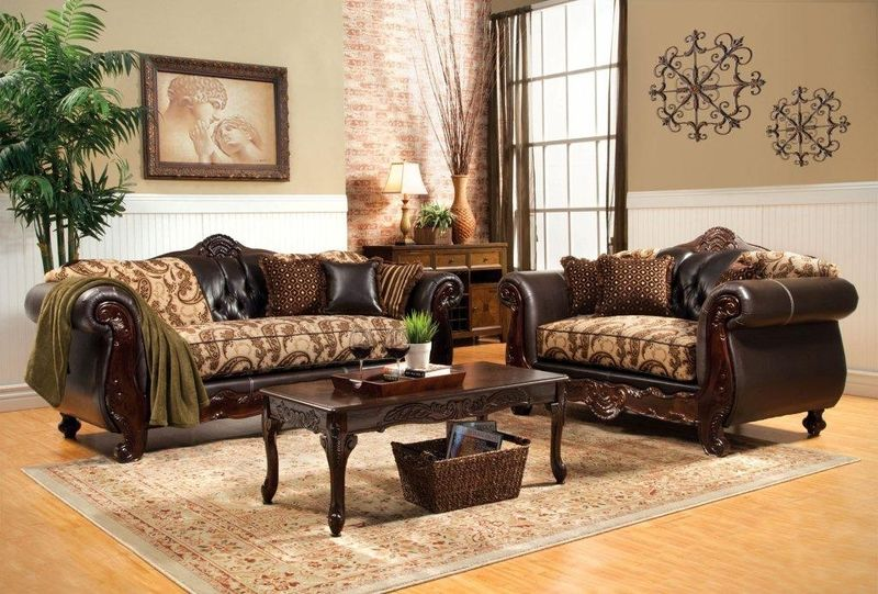 Two Tone Sofa Living Room Furniture