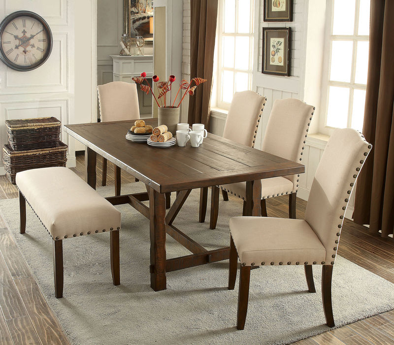 Brentford Dining Room Set with Bench