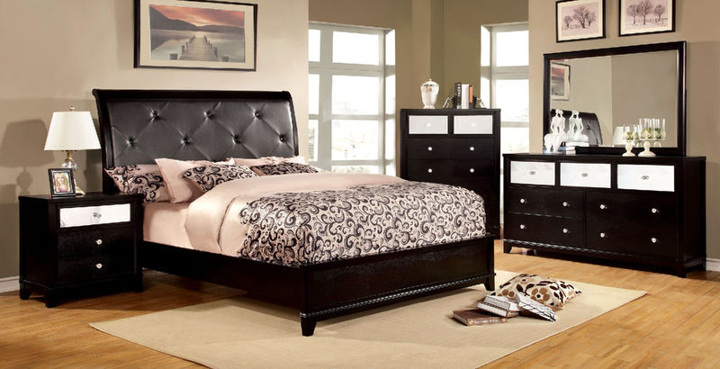 Bryant Bedroom Set in Black