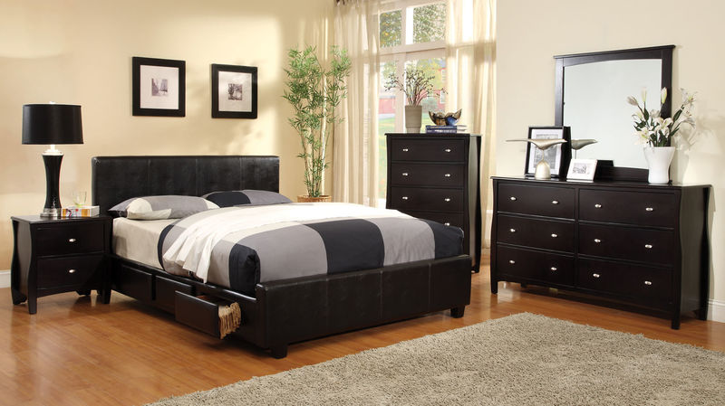 Burlington Bedroom Set with Storage Bed