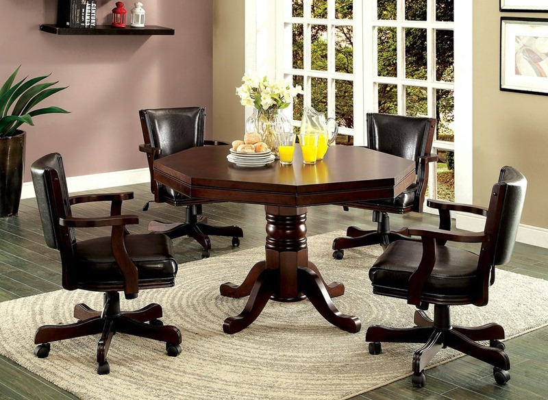 Rowan Game Table Set in Cherry