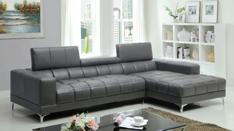 Bourdet II Sectional Sofa in Gray