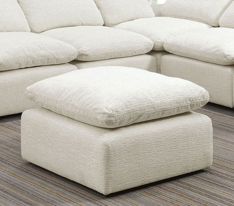 Joel 6 Seat Sectional Sofa in Cream