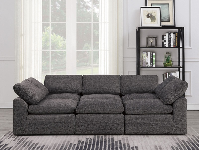 Joel Sleeper Sofa in Gray