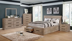 Oakes Bedroom Set in Natural