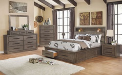 Oakburn Bedroom Set in Gray