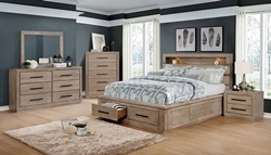 Oakburn Bedroom Set in Natural