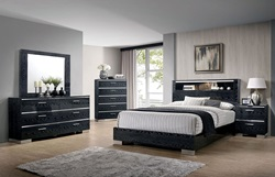 Malte Bedroom Set in Black