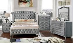 Alzire Bedroom Set in Gray