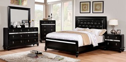 Avior Bedroom Set in Black