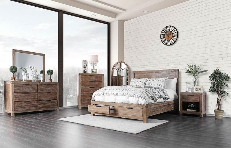 Wynton Bedroom Set with Storage Drawers