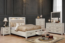 Tywyn Bedroom Set in Antique White