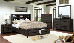 Strasburg Bedroom Set in Brown