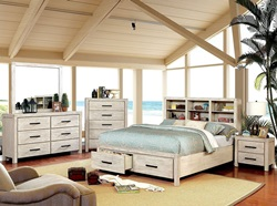 Strasburg Bedroom Set in White