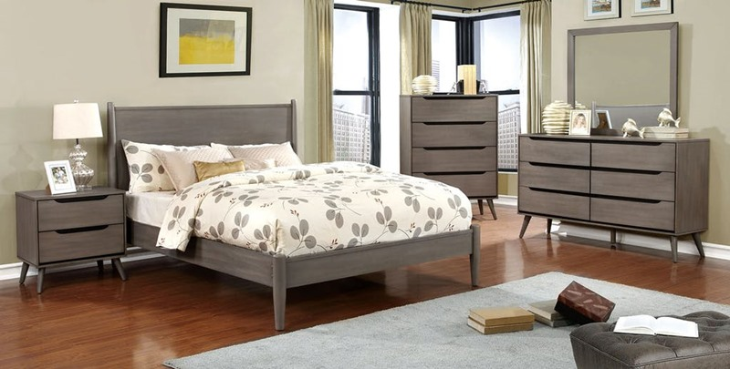 Lennart Bedroom Set in Gray
