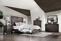 Brenna Bedroom Set in Espresso