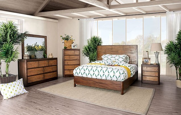 Covilha Bedroom Set with Bamboo