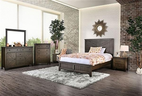 Westhope Bedroom Set in Dark Walnut