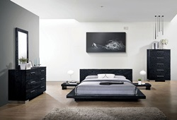 Christie Bedroom Set in Black