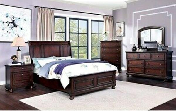 Wells Bedroom Set in Cherry