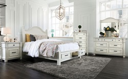 Daria Bedroom Set with Storage Bed