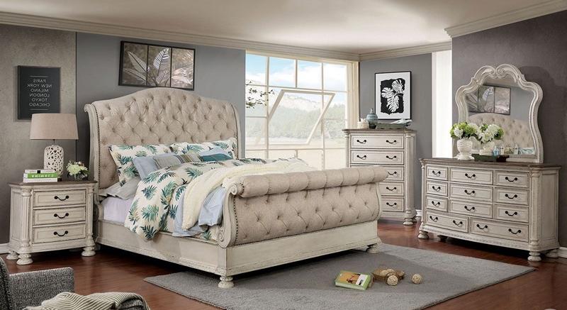 Lysandra Bedroom Set in White