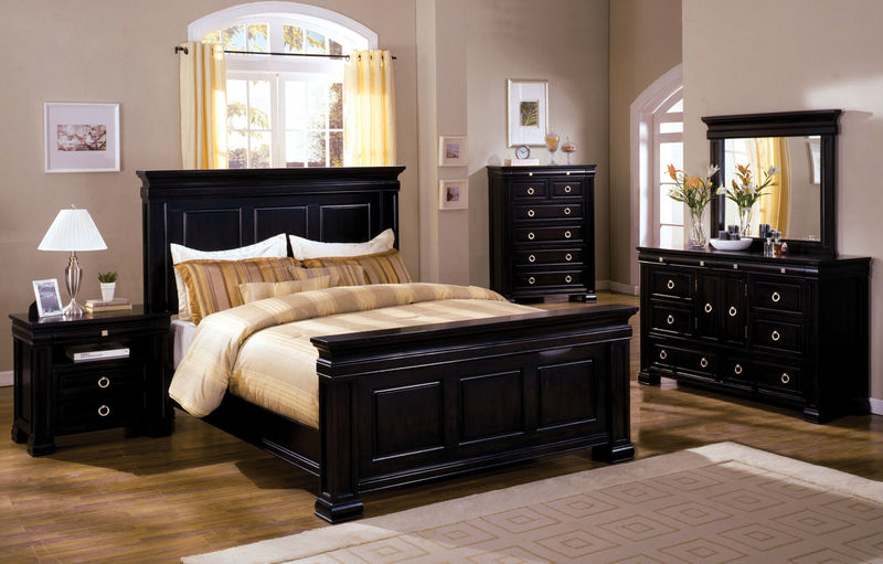 Cambridge Bedroom Set in Espresso