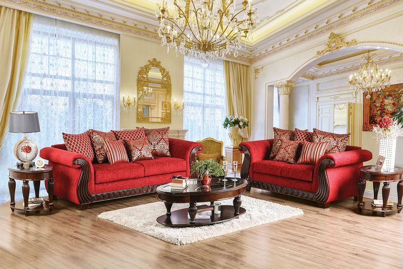 Corinna Formal Living Room Set