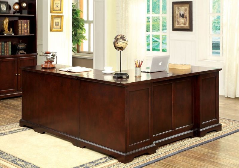 Furniture Of America Cm Dk6207cr Desmont Corner Office Desk