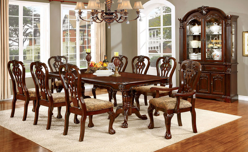 Dallas Designer Furniture Elana Formal Dining Room Set