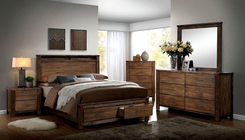 Elkton Bedroom Set with Storage Bed