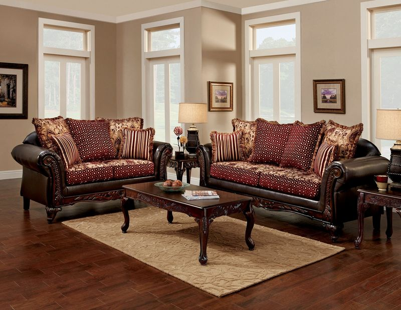 extraordinary elegant formal living room sets | Furniture of America | SM7507 Ellis Formal Living Room Set ...