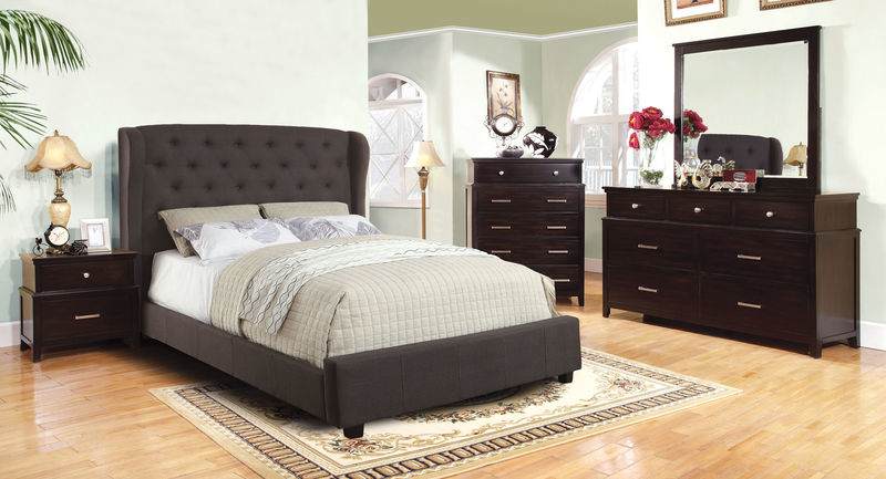 Fontes Bedroom Set in Gray