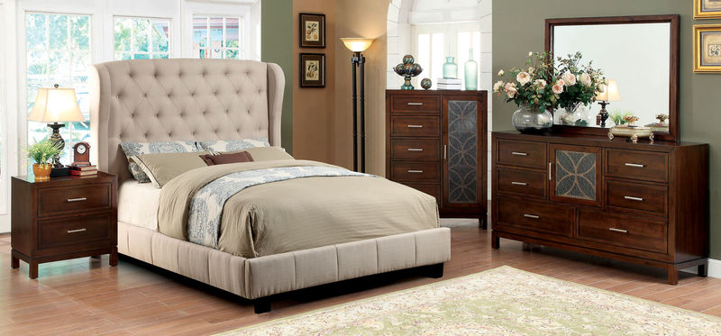 Fontes Bedroom Set in Ivory