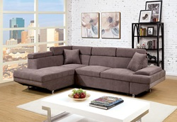 Foreman Sectional in Brown