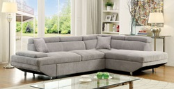 Foreman Sectional in Gray