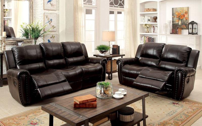 Foxboro Reclining Leather Living Room Set