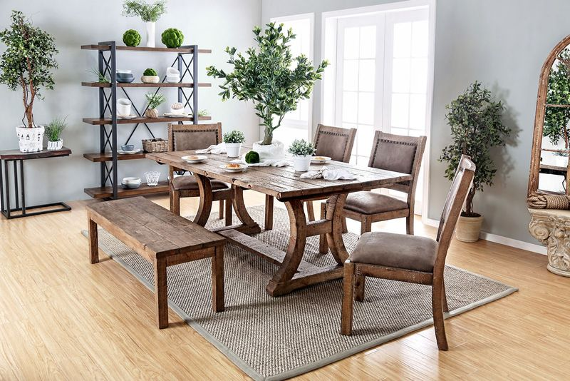 Gianna Rustic Dining Room Set