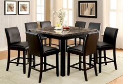 Gladstone Counter Height Dining Room Set in Black
