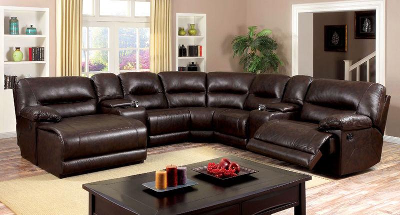 Furniture Of America Cm6822br Glasgow Reclining