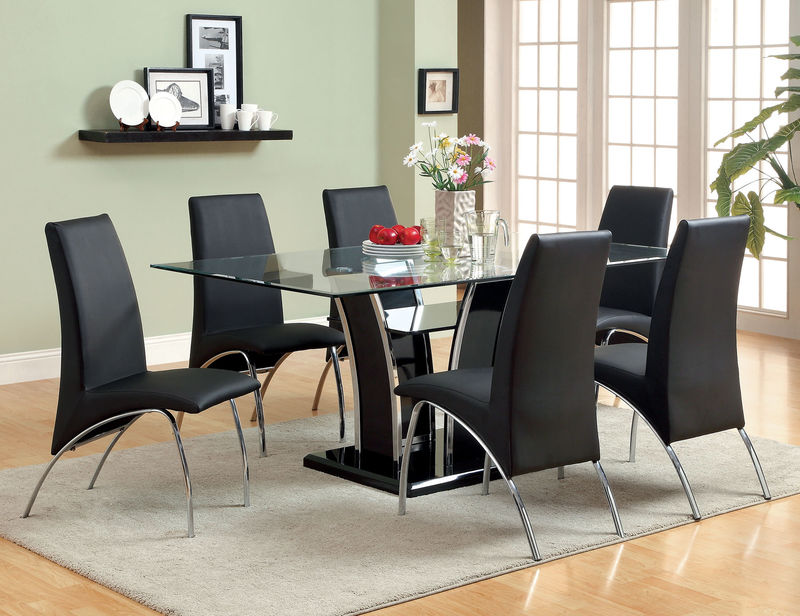 Glenview Dining Room Set in Black